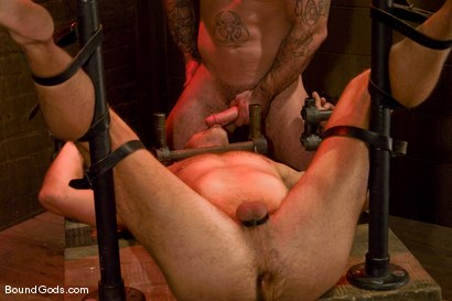 Photo number 12 from Slicked Up Dak Ramsey shot for Bound Gods on Kink.com. Featuring Mitch Colby and Dak Ramsey in hardcore BDSM & Fetish porn.
