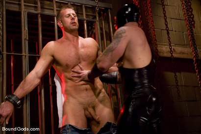 Photo number 1 from Slicked Up Dak Ramsey shot for Bound Gods on Kink.com. Featuring Mitch Colby and Dak Ramsey in hardcore BDSM & Fetish porn.