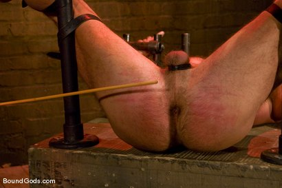 Photo number 11 from Slicked Up Dak Ramsey shot for Bound Gods on Kink.com. Featuring Mitch Colby and Dak Ramsey in hardcore BDSM & Fetish porn.