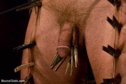 Photo number 5 from Slicked Up Dak Ramsey shot for Bound Gods on Kink.com. Featuring Mitch Colby and Dak Ramsey in hardcore BDSM & Fetish porn.
