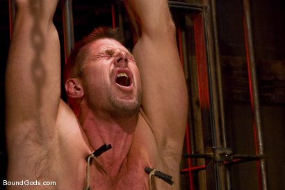 Photo number 4 from Slicked Up Dak Ramsey shot for Bound Gods on Kink.com. Featuring Mitch Colby and Dak Ramsey in hardcore BDSM & Fetish porn.