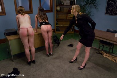 Photo number 4 from Job Applicants Competition shot for Whipped Ass on Kink.com. Featuring Sarah Shevon, Winter Sky and Maitresse Madeline Marlowe in hardcore BDSM & Fetish porn.