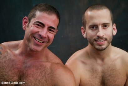Photo number 15 from Kink University shot for Bound Gods on Kink.com. Featuring Zane Jacobs and Nick Moretti in hardcore BDSM & Fetish porn.