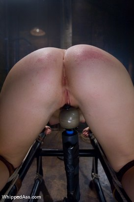 Photo number 5 from Savannah West: First time Fisted shot for Whipped Ass on Kink.com. Featuring Aiden Starr and Savannah West in hardcore BDSM & Fetish porn.