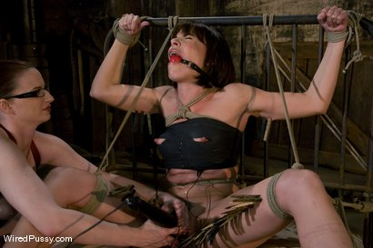 Photo number 8 from Dana DeArmond returns to Wiredpussy to be dominated by Claire Adams shot for Wired Pussy on Kink.com. Featuring Claire Adams and Dana DeArmond in hardcore BDSM & Fetish porn.