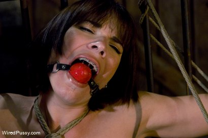 Photo number 9 from Dana DeArmond returns to Wiredpussy to be dominated by Claire Adams shot for Wired Pussy on Kink.com. Featuring Claire Adams and Dana DeArmond in hardcore BDSM & Fetish porn.