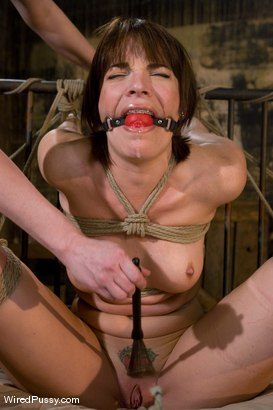 Photo number 6 from Dana DeArmond returns to Wiredpussy to be dominated by Claire Adams shot for Wired Pussy on Kink.com. Featuring Claire Adams and Dana DeArmond in hardcore BDSM & Fetish porn.