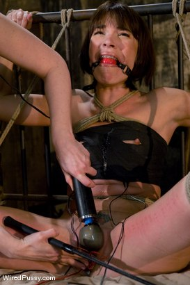 Photo number 7 from Dana DeArmond returns to Wiredpussy to be dominated by Claire Adams shot for Wired Pussy on Kink.com. Featuring Claire Adams and Dana DeArmond in hardcore BDSM & Fetish porn.