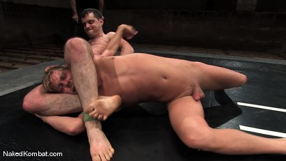 Photo number 10 from Cole Ryan vs Braxton Bond shot for Naked Kombat on Kink.com. Featuring Braxton Bond and Cole Ryan in hardcore BDSM & Fetish porn.