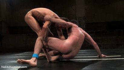 Photo number 6 from Brenn Wyson vs Brandon Monroe shot for Naked Kombat on Kink.com. Featuring Brandon Monroe and Brenn Wyson in hardcore BDSM & Fetish porn.