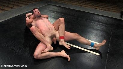 Photo number 5 from Brenn Wyson vs Brandon Monroe shot for Naked Kombat on Kink.com. Featuring Brandon Monroe and Brenn Wyson in hardcore BDSM & Fetish porn.