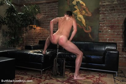 Photo number 8 from A Businessman and His Toys shot for Butt Machine Boys on Kink.com. Featuring Brandon Monroe in hardcore BDSM & Fetish porn.