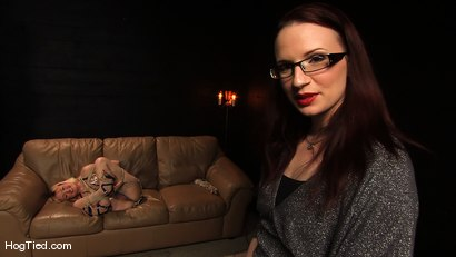 Photo number 9 from Amateur Casting Couch 13: Pretty slutty little Chastity Valentine shot for Hogtied on Kink.com. Featuring Claire Adams and Chastity Valentine in hardcore BDSM & Fetish porn.