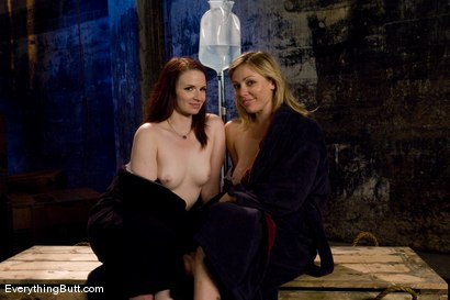 Photo number 15 from Dual Pleasures.... Adrianna Nicole & Claire Adams shot for Everything Butt on Kink.com. Featuring Claire Adams and Adrianna Nicole in hardcore BDSM & Fetish porn.