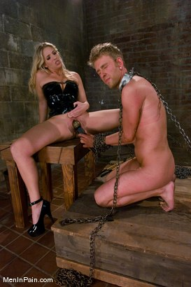Photo number 12 from Jordan Takes Her Due shot for Men In Pain on Kink.com. Featuring Jordan Kingsley and Dean Strong in hardcore BDSM & Fetish porn.