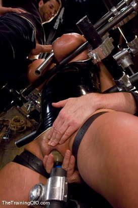 Photo number 8 from The Training of Trina Michaels Day 3 shot for The Training Of O on Kink.com. Featuring Trina Michaels and Maestro in hardcore BDSM & Fetish porn.