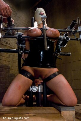 Photo number 9 from The Training of Trina Michaels Day 3 shot for The Training Of O on Kink.com. Featuring Trina Michaels and Maestro in hardcore BDSM & Fetish porn.