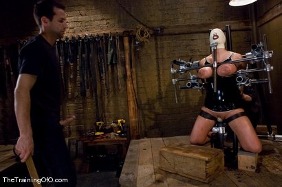 Photo number 15 from The Training of Trina Michaels Day 3 shot for The Training Of O on Kink.com. Featuring Trina Michaels and Maestro in hardcore BDSM & Fetish porn.