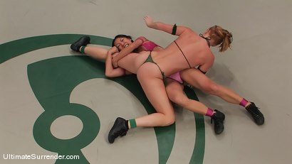 Photo number 1 from SUMMER VENGEANCE TOURNAMENT MATCH UP! <br>AMI EMERSON VS TIA LING shot for Ultimate Surrender on Kink.com. Featuring Tia Ling and Ami Emerson in hardcore BDSM & Fetish porn.