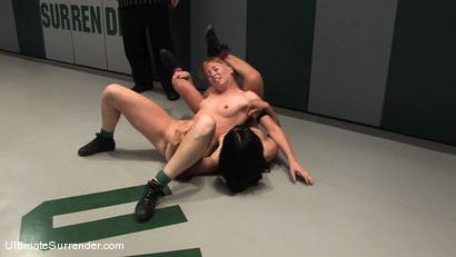 Photo number 13 from SUMMER VENGEANCE TOURNAMENT MATCH UP! <br>AMI EMERSON VS TIA LING shot for Ultimate Surrender on Kink.com. Featuring Tia Ling and Ami Emerson in hardcore BDSM & Fetish porn.