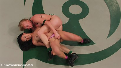 Photo number 5 from SUMMER VENGEANCE TOURNAMENT MATCH UP! <br>AMI EMERSON VS TIA LING shot for Ultimate Surrender on Kink.com. Featuring Tia Ling and Ami Emerson in hardcore BDSM & Fetish porn.