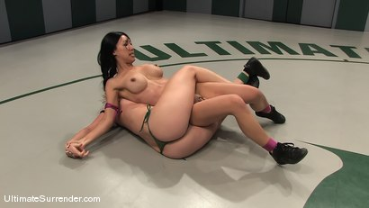 Photo number 6 from SUMMER VENGEANCE TOURNAMENT MATCH UP! <br>AMI EMERSON VS TIA LING shot for Ultimate Surrender on Kink.com. Featuring Tia Ling and Ami Emerson in hardcore BDSM & Fetish porn.