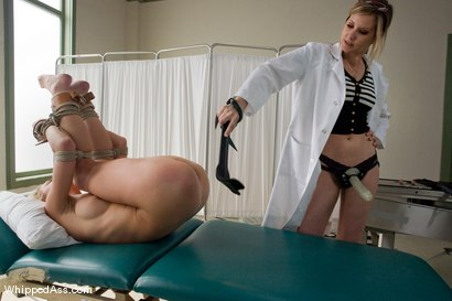 Photo number 8 from The Zucchini Incident shot for Whipped Ass on Kink.com. Featuring Maitresse Madeline Marlowe  and Mason in hardcore BDSM & Fetish porn.