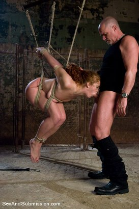 Photo number 6 from Sabrina Fox shot for Sex And Submission on Kink.com. Featuring Mark Davis and Sabrina Fox in hardcore BDSM & Fetish porn.