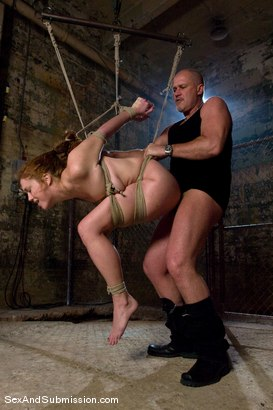 Photo number 8 from Sabrina Fox shot for Sex And Submission on Kink.com. Featuring Mark Davis and Sabrina Fox in hardcore BDSM & Fetish porn.