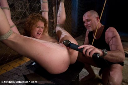 Photo number 14 from Sabrina Fox shot for Sex And Submission on Kink.com. Featuring Mark Davis and Sabrina Fox in hardcore BDSM & Fetish porn.