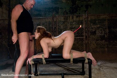 Photo number 9 from Sabrina Fox shot for Sex And Submission on Kink.com. Featuring Mark Davis and Sabrina Fox in hardcore BDSM & Fetish porn.