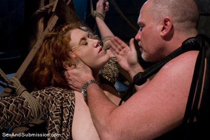 Photo number 2 from Sabrina Fox shot for Sex And Submission on Kink.com. Featuring Mark Davis and Sabrina Fox in hardcore BDSM & Fetish porn.