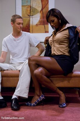 Photo number 2 from Natassia Dream - sex therapy shot for TS Seduction on Kink.com. Featuring Natassia Dreams and Johnny in hardcore BDSM & Fetish porn.