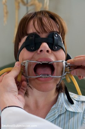 Photo number 3 from Dental Domination shot for Sex And Submission on Kink.com. Featuring Erik Everhard and Dana DeArmond in hardcore BDSM & Fetish porn.