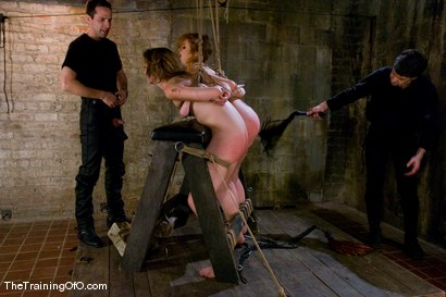 Photo number 10 from The Training of Sarah Shevon, Day One shot for The Training Of O on Kink.com. Featuring Sarah Shevon, Maestro and Sabrina Fox in hardcore BDSM & Fetish porn.