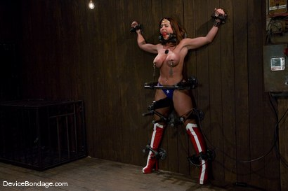 Photo number 10 from THE ORGASM TRAP -<br><br>-Countdown to Relaunch - 8 of 20 shot for Device Bondage on Kink.com. Featuring Christina Carter in hardcore BDSM & Fetish porn.