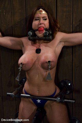 Photo number 8 from THE ORGASM TRAP -<br><br>-Countdown to Relaunch - 8 of 20 shot for Device Bondage on Kink.com. Featuring Christina Carter in hardcore BDSM & Fetish porn.