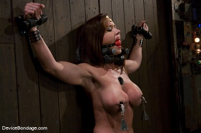 Photo number 11 from THE ORGASM TRAP -<br><br>-Countdown to Relaunch - 8 of 20 shot for Device Bondage on Kink.com. Featuring Christina Carter in hardcore BDSM & Fetish porn.