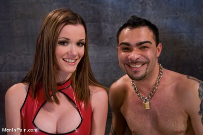 Photo number 2 from Raven vs Rico shot for Men In Pain on Kink.com. Featuring Raven Alexis and Rico in hardcore BDSM & Fetish porn.