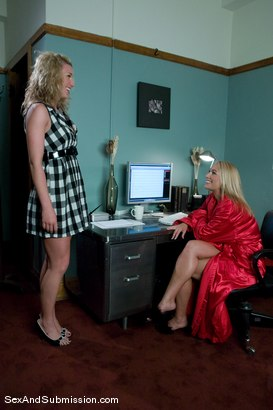 Photo number 2 from MILF Submission: episode 1 shot for Sex And Submission on Kink.com. Featuring James Deen and Mellanie Monroe in hardcore BDSM & Fetish porn.