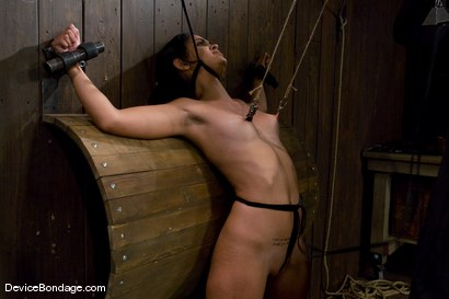 Photo number 12 from Leah<br> My nipples, my pussy, my neck. shot for Device Bondage on Kink.com. Featuring Leah in hardcore BDSM & Fetish porn.