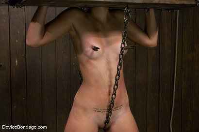 Photo number 13 from Leah<br>The Zipper shot for Device Bondage on Kink.com. Featuring Leah in hardcore BDSM & Fetish porn.