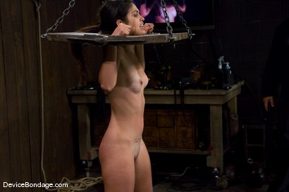 Photo number 5 from Leah<br>The Zipper shot for Device Bondage on Kink.com. Featuring Leah in hardcore BDSM & Fetish porn.