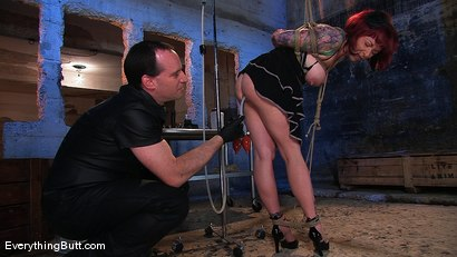 Photo number 3 from Kylie Ireland; 1 gallon enema and a gaping asshole shot for Everything Butt on Kink.com. Featuring Kylie Ireland and Mark Davis in hardcore BDSM & Fetish porn.