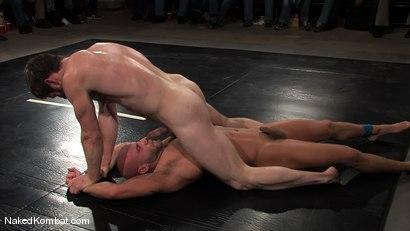 Photo number 5 from Dean Tucker vs Drake Jaden<br />The Live Audience Match  shot for Naked Kombat on Kink.com. Featuring Dean Tucker and Drake Jaden in hardcore BDSM & Fetish porn.
