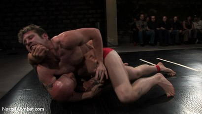 Photo number 1 from Dean Tucker vs Drake Jaden<br />The Live Audience Match  shot for Naked Kombat on Kink.com. Featuring Dean Tucker and Drake Jaden in hardcore BDSM & Fetish porn.