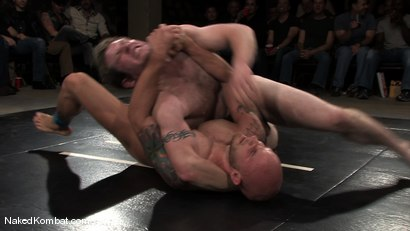 Photo number 8 from Dean Tucker vs Drake Jaden<br />The Live Audience Match  shot for Naked Kombat on Kink.com. Featuring Dean Tucker and Drake Jaden in hardcore BDSM & Fetish porn.