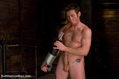 Photo number 2 from Farmer Dean shot for Butt Machine Boys on Kink.com. Featuring Dean Tucker in hardcore BDSM & Fetish porn.