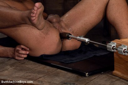 Photo number 12 from Warehouse Lunch Break shot for Butt Machine Boys on Kink.com. Featuring Trey Turner in hardcore BDSM & Fetish porn.