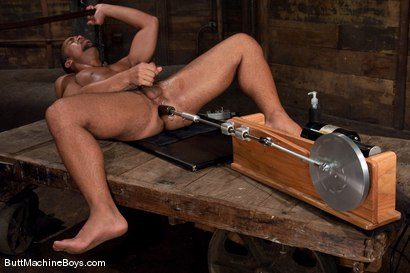 Photo number 13 from Warehouse Lunch Break shot for Butt Machine Boys on Kink.com. Featuring Trey Turner in hardcore BDSM & Fetish porn.